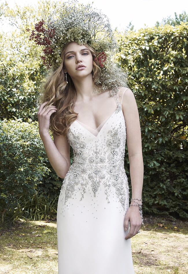 Desiree Hartsock reception wedding dress