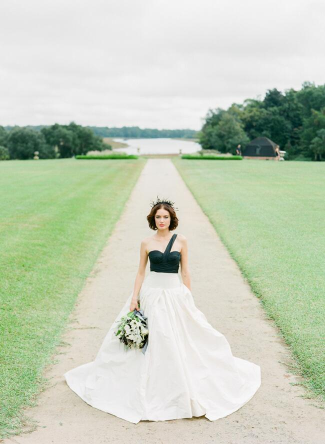 Dress: Vera Wang // Featured: The Knot Blog