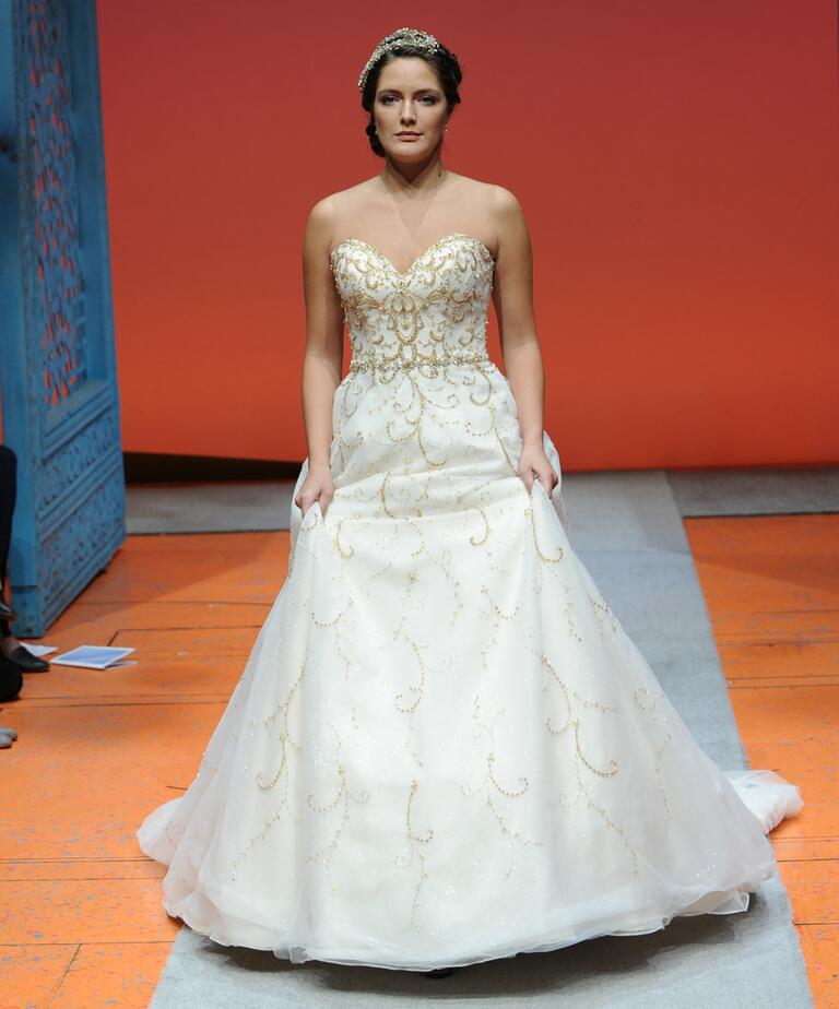 Cinderella Wedding: Disney Fairy Tale Weddings By Alfred Angelo Bridal Fashion