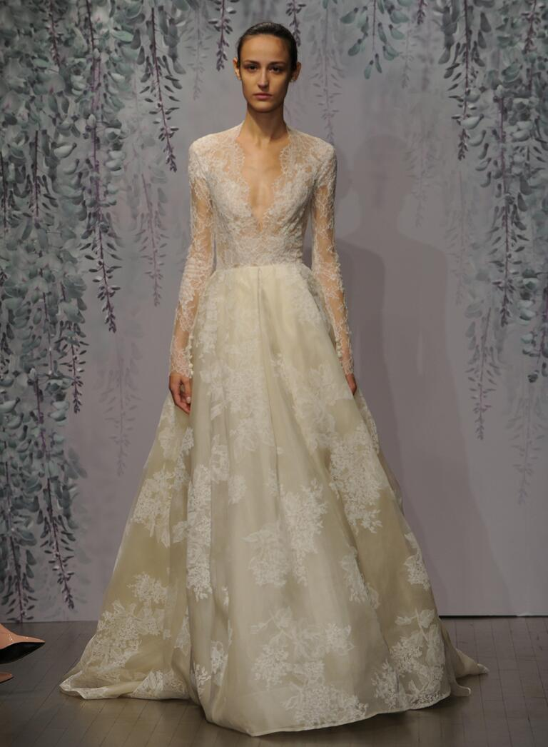 Monique lhuillier fall 2016 collection wedding dress photos for Monique lhuillier wedding dress