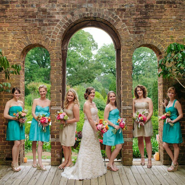 Whimsical Garden Wedding: A Whimsical Garden Party Wedding In Adairsville, Georgia