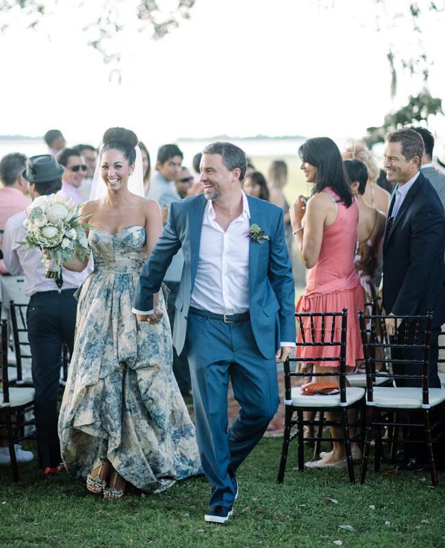 Floral Print Wedding Dresses