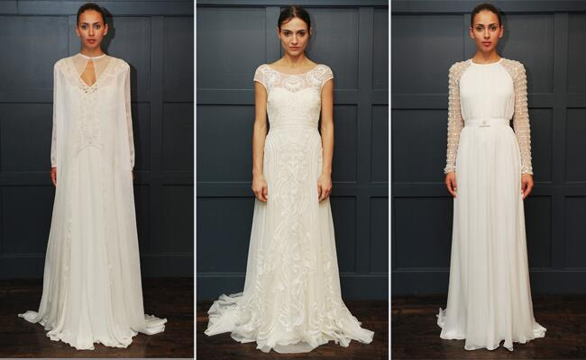 Temperley Wedding Gowns: Temperley Bridal Winter 2015 Wedding Dresses Are Full Of