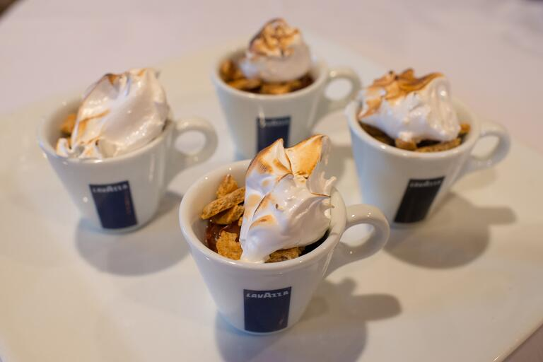 Mini S'mores in a cup