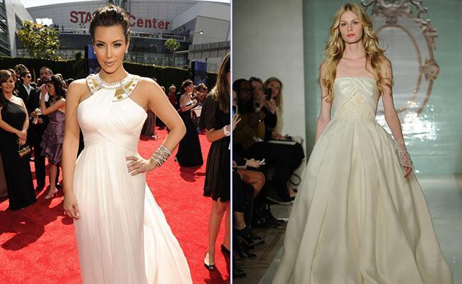 Kim Kardashian: Celebuzz / TheKnot.com