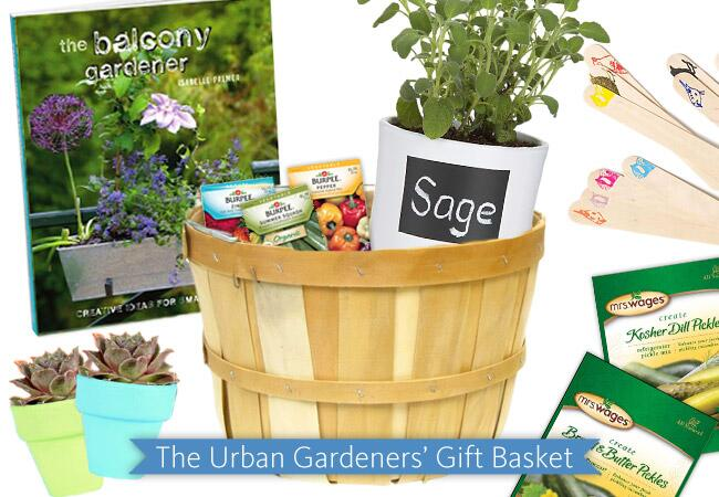 The Urban Gardeners' Gift Basket / The Knot