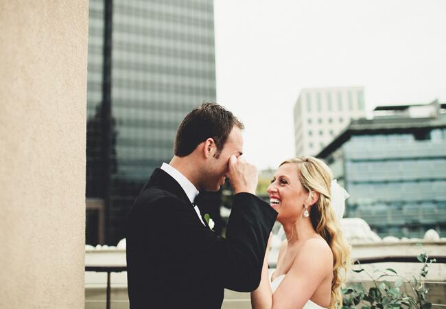 Photo: Andria Lindquist // Featured: The Knot Blog