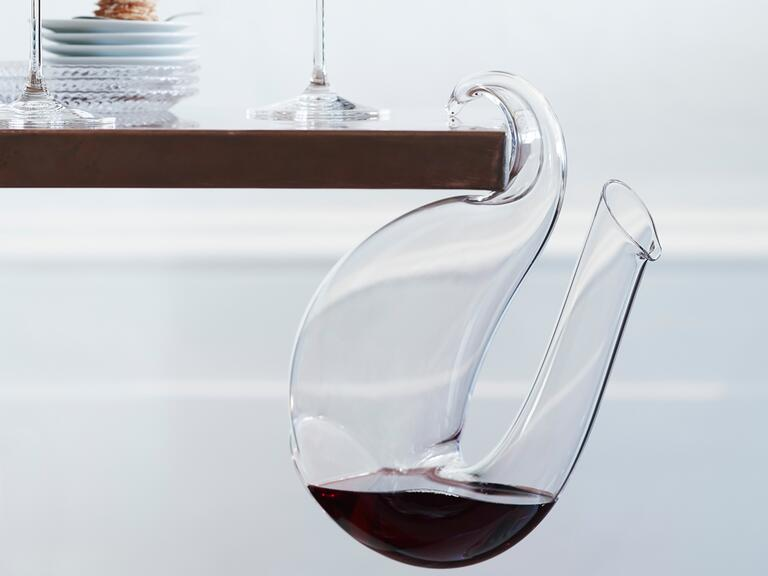 Riedel hanging decanter