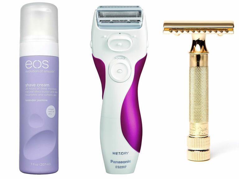 Shaving EOS Shave Cream, Panasonic Razor, Oui Shave Razor