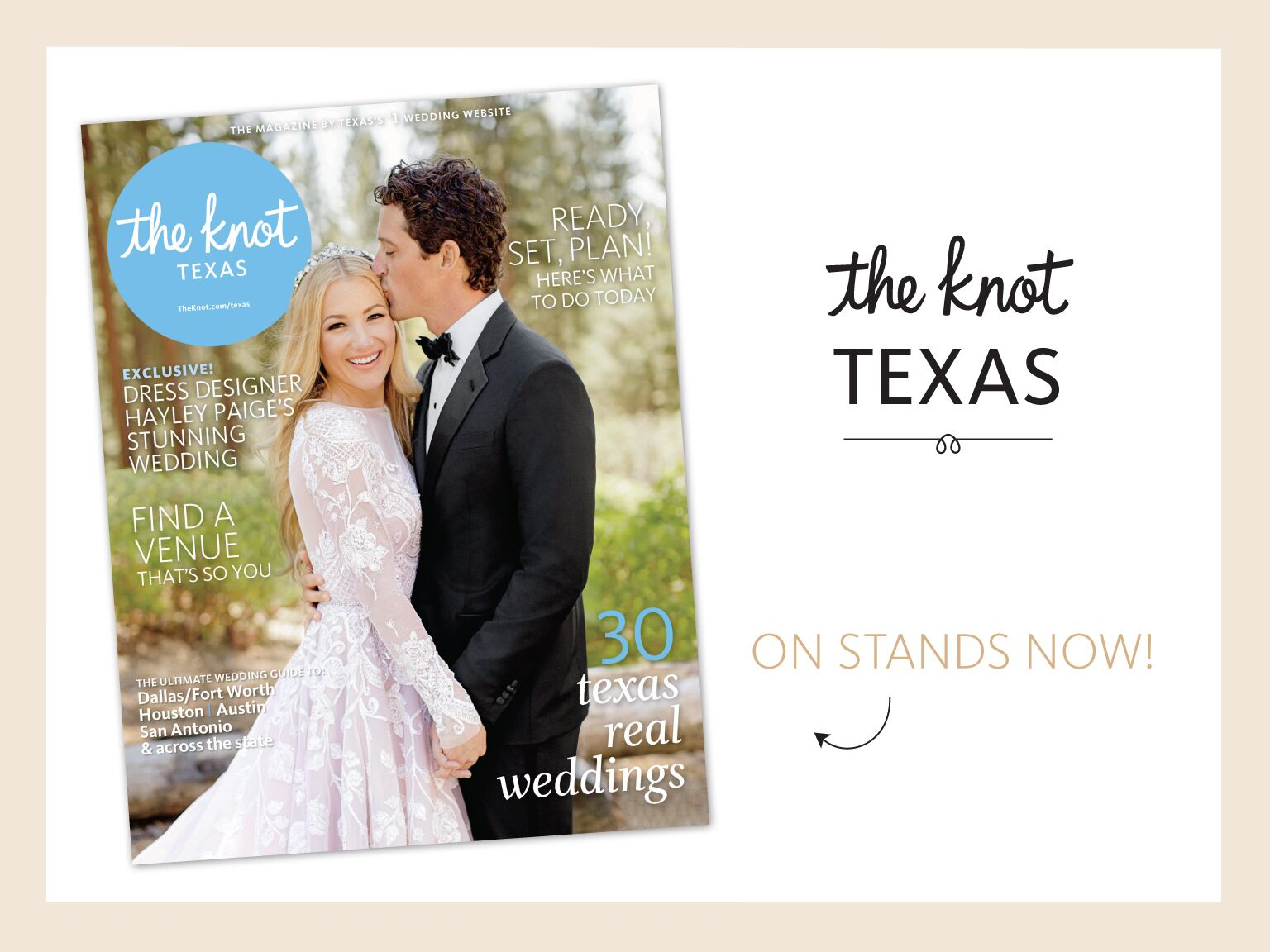The Knot Texas Weddings Magazine Now On Newsstands