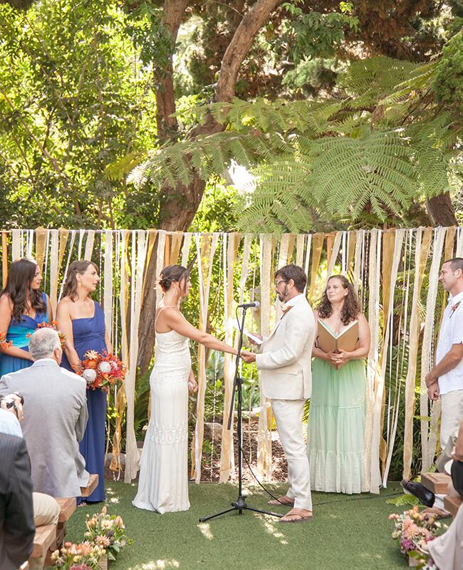 5 Wedding Bouquet Etiquette Questions You Need To Read: A Rustic Glam Wedding At The San Diego Botanic Garden