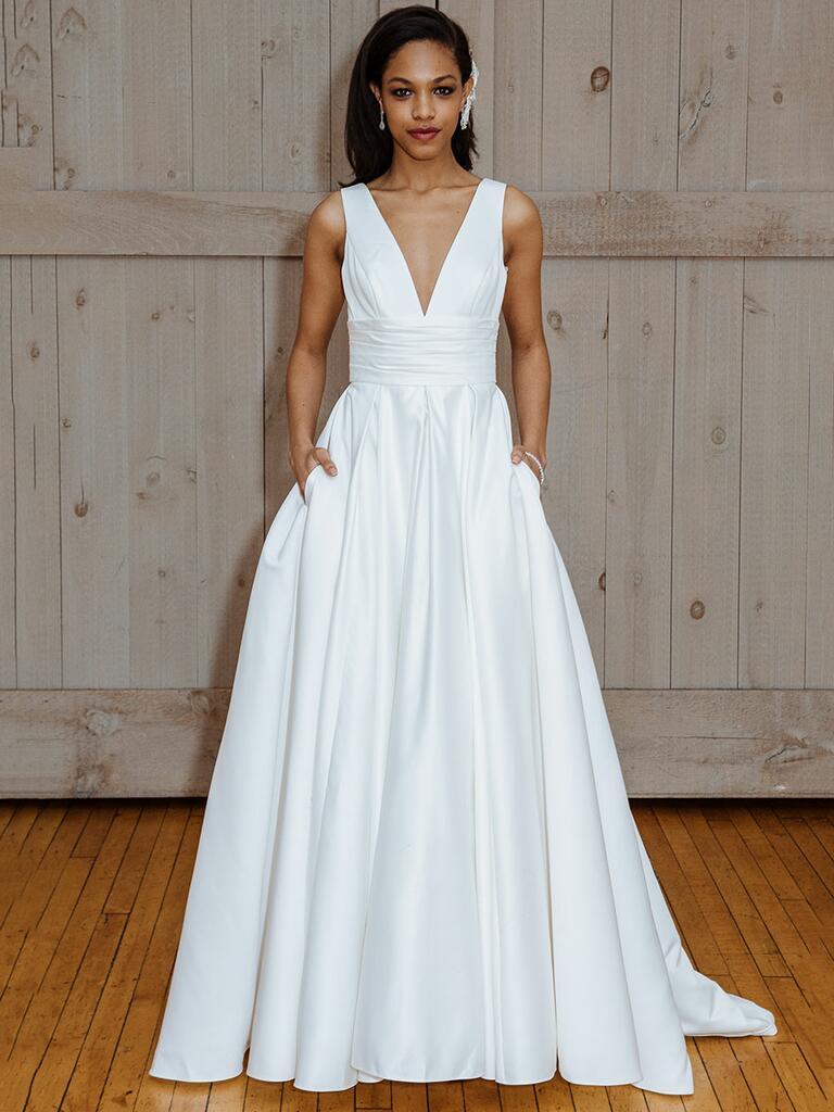 David 39 s bridal fall 2017 collection bridal fashion week for David bridal wedding dresses 2017