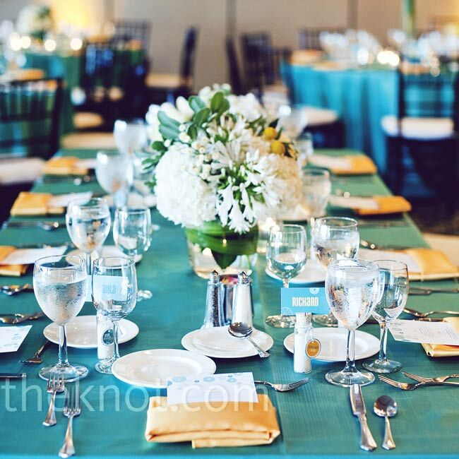 Teal Wedding Ideas For Reception
