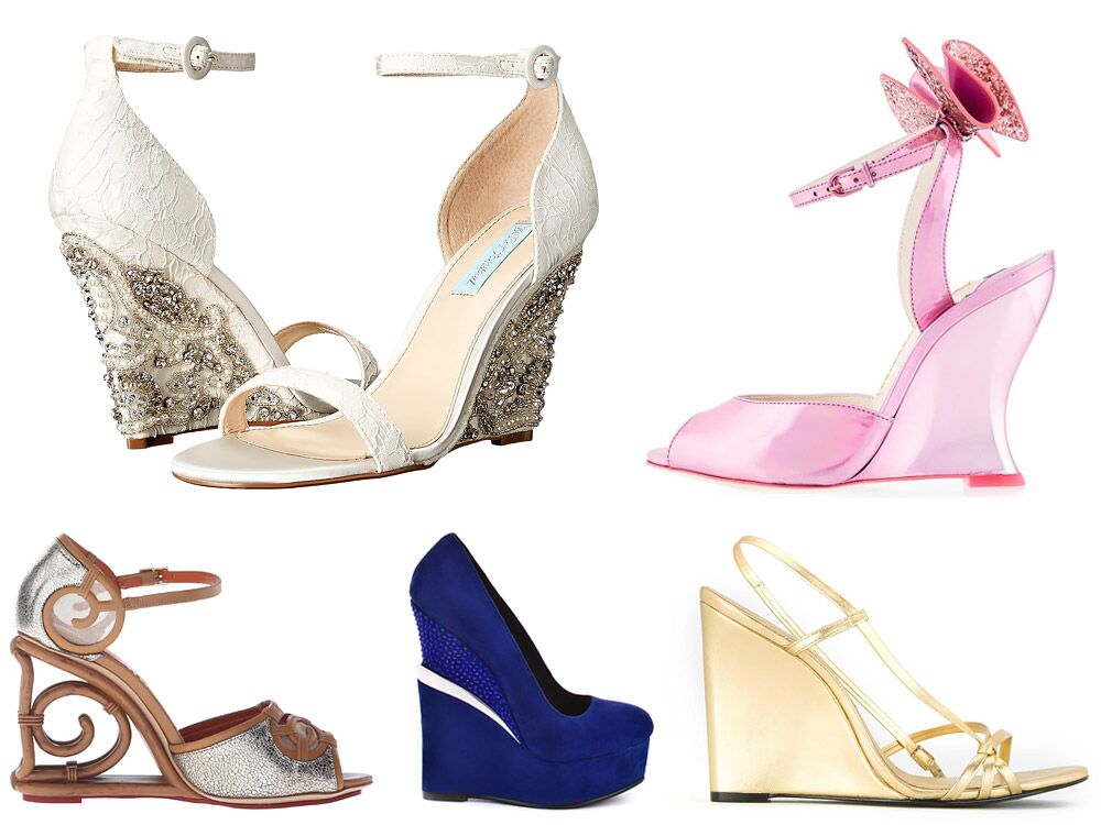 88e59c9fa 42 Best Wedding Wedges You Can Buy Now
