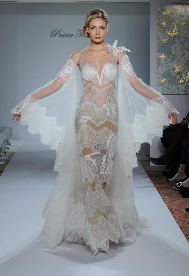 Pnina tornai wedding dresses fall 2015 bridal fashion for Pnina tornai wedding dresses