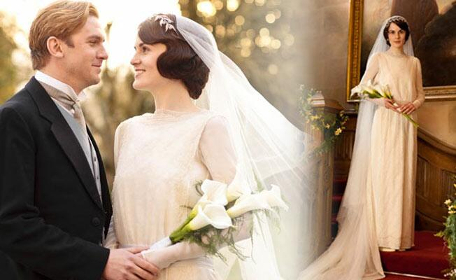 Lady-Mary-&-Matthew-Crawley-Wedding