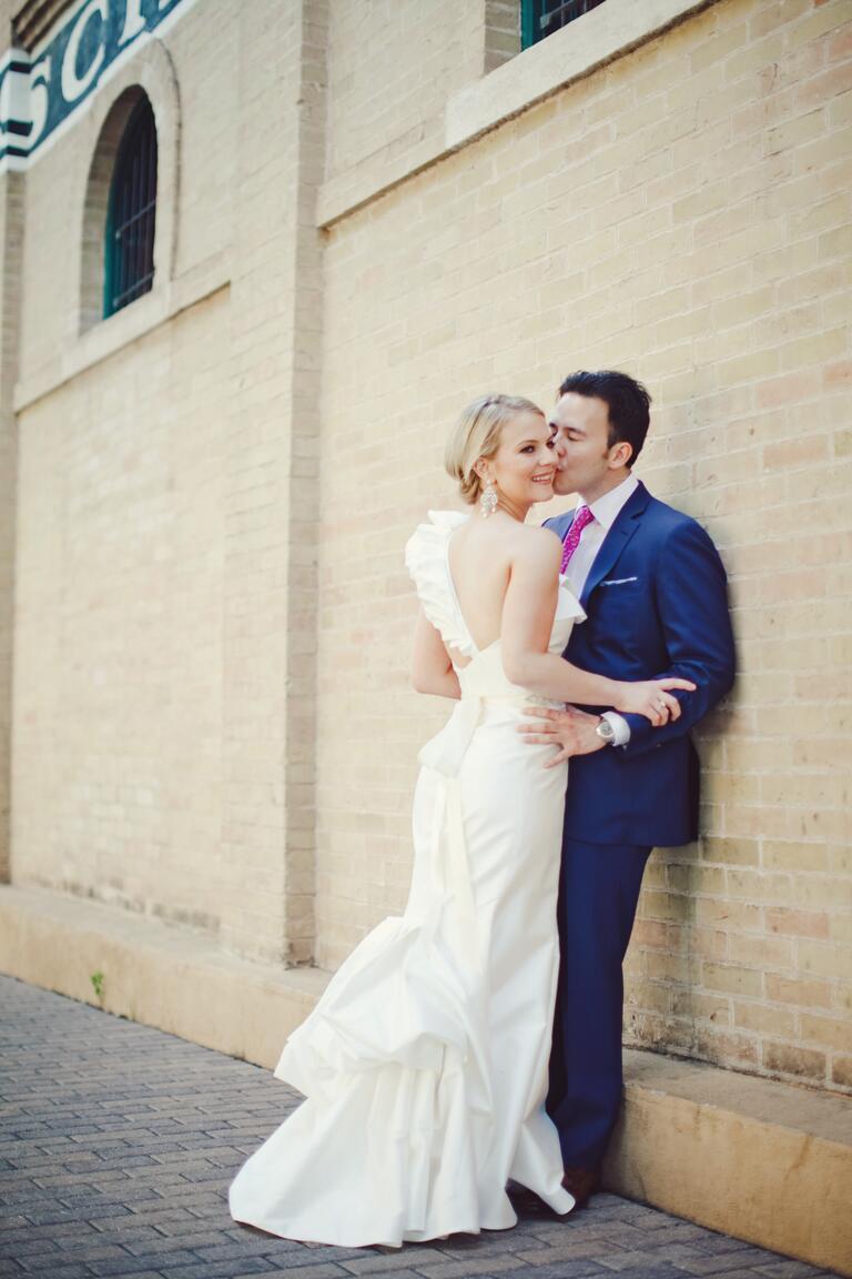 New modern dress styles - Couple Style Stalker The Nichols Blog Theknot Com