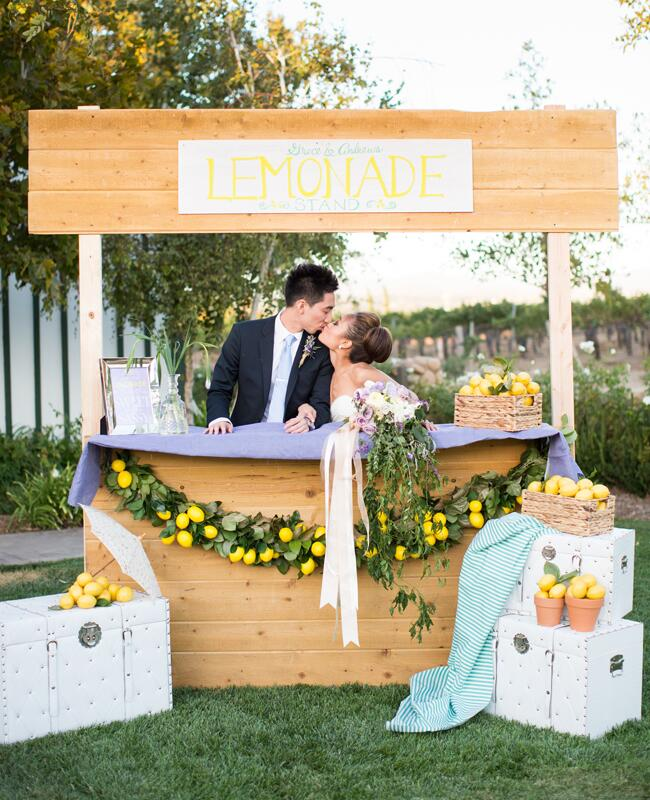Wedding Lemonade Stand |<img class=