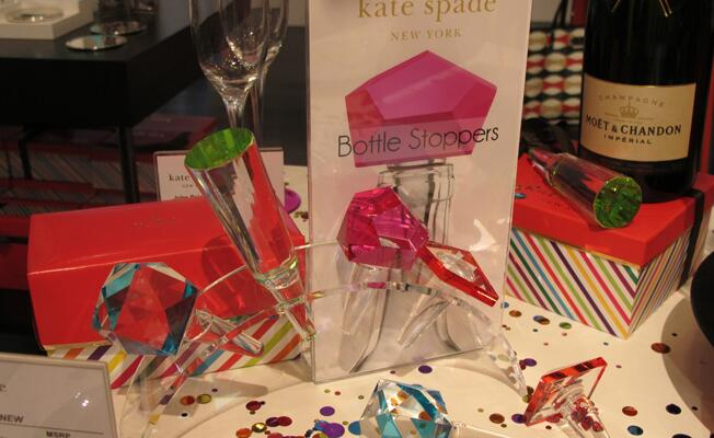 Kate Spade bottle stoppers