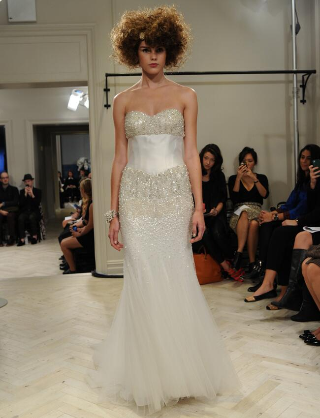 Badgley Mischka Spring 2014 Wedding Dresses
