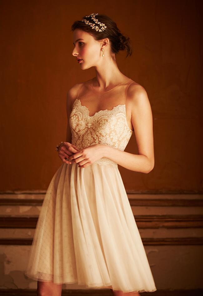 tulle dress|BHLDN/blog.TheKnot.com