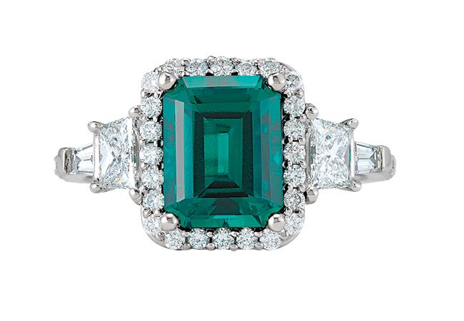 emerald/Stuller/The Knot blog
