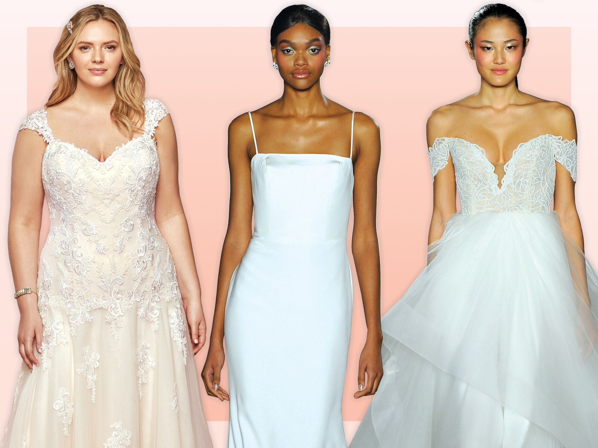 Wedding Dress Silhouettes The Best Wedding Dress For Your Body Type