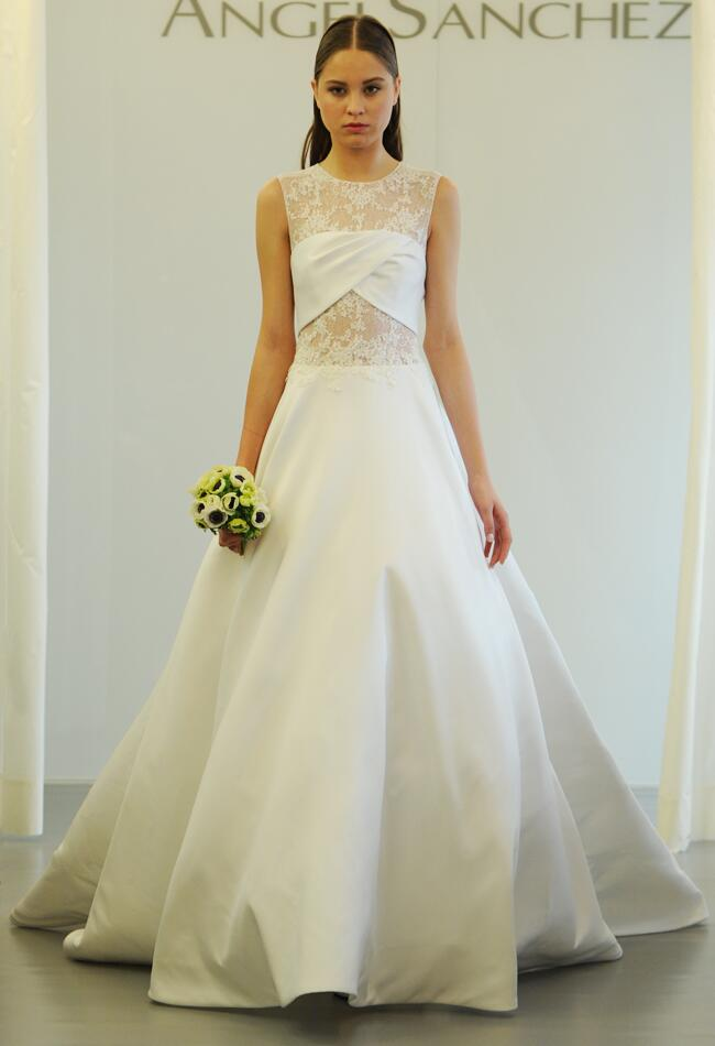 Angel Sanchez Wedding Dresses 2015 Showcase Cut Outs And