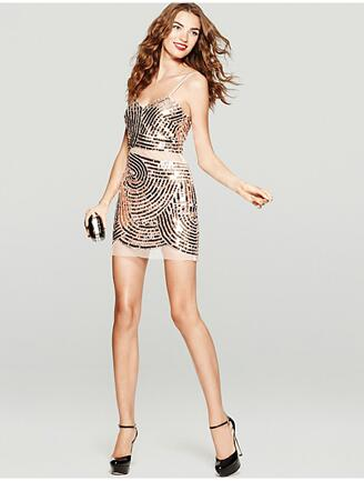 The Glitzy Sequin Dress