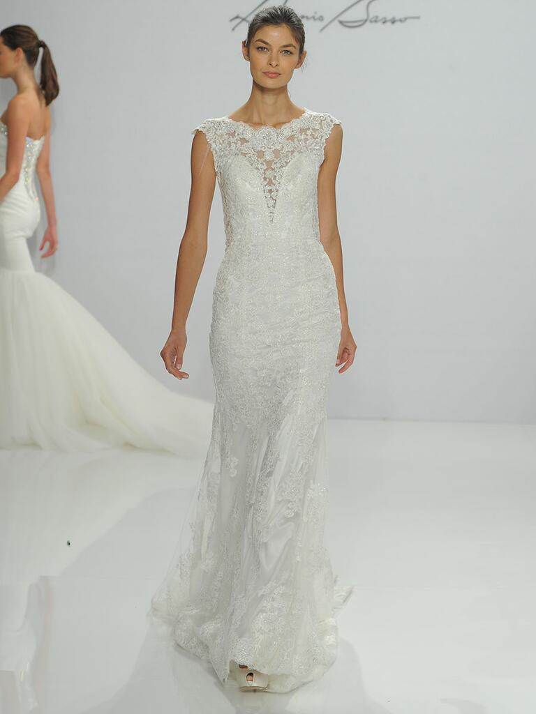 Dennis Basso Fall 2017 Collection: Bridal Fashion Week Photos
