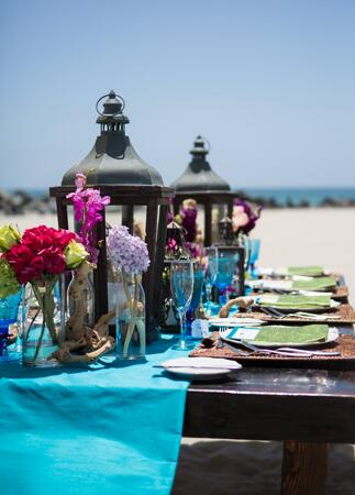 Colorful Tablescapes | Vallentyne Photography | blog.TheKnot.com