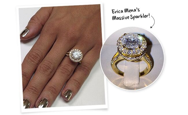 Bow Wowu0027s Fiancee Erica Menau0027s Gorgeous Engagement Ring: See The Photos!