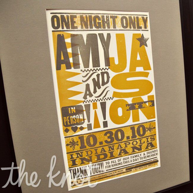 Wedding Invitations Indianapolis: A Modern Wedding In Indianapolis, IN