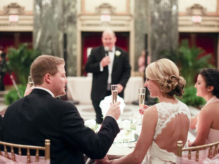 How To Choose Your Reception Toasting Drink