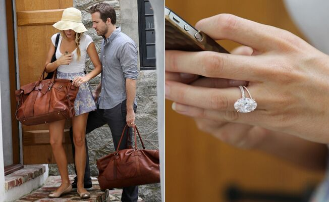 Blake Lively Engagement Ring Lookalikes