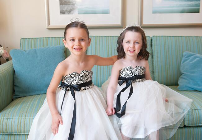 10 Stylish Flower Girl Looks|Stephen Dohring Photography|blog.TheKnot.com