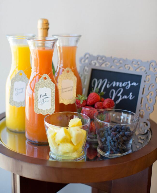 DIY Mimosa Bar |<img class=