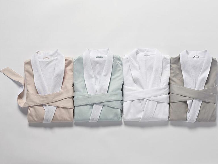 Organic cotton robes