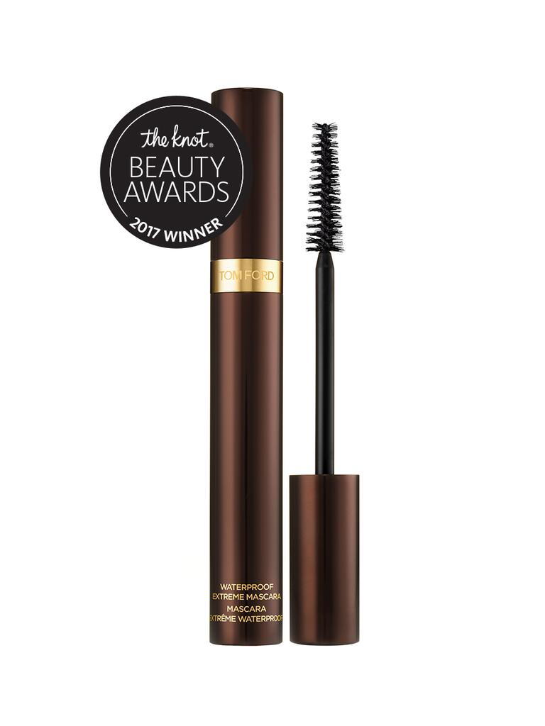 The Knot pick for best mascara is the Waterproof Extreme mascara by Tom Ford