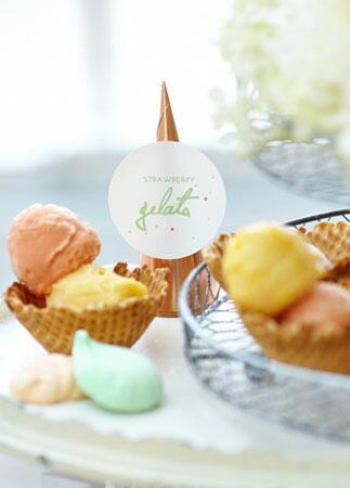 Desserts For A Bridal Showr