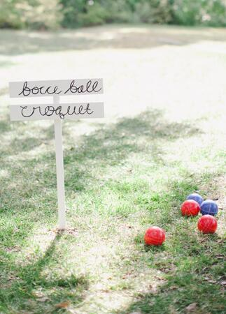 Backyard BBQ wedding ideas | Caroline Joy | blog.theknot.com