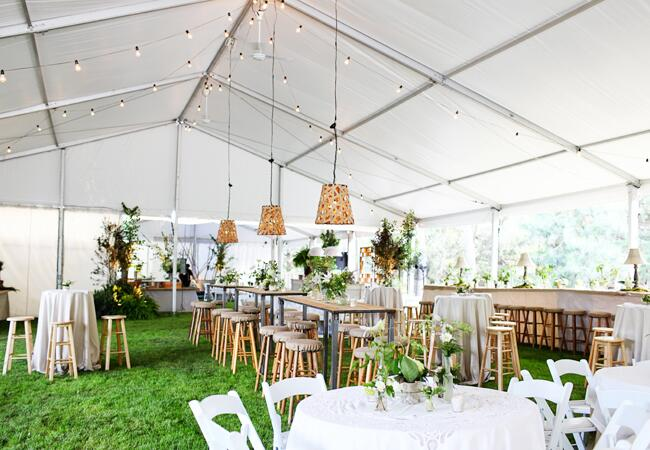 16 Unexpected Reception Seating Ideas