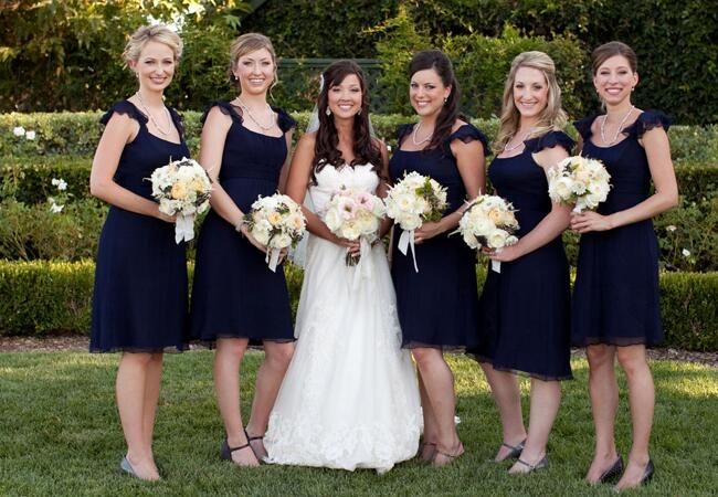 Bridal Party // John & Joseph Photography // Planner: Details Details // Location: Ponte Winery