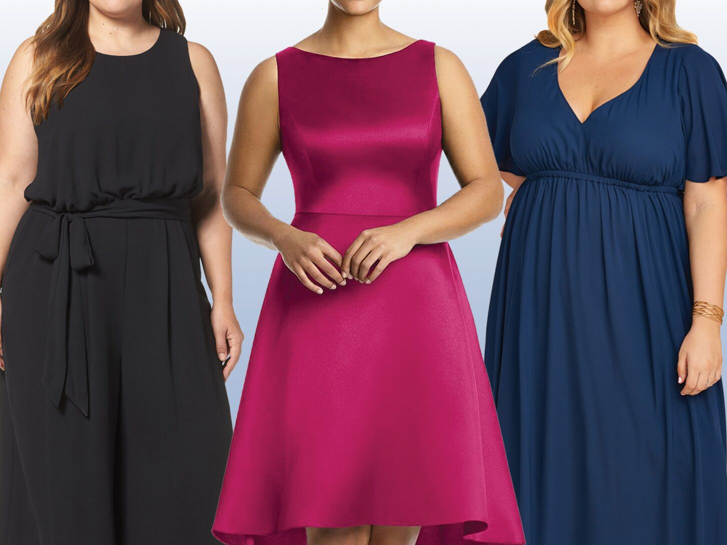 51ae66b147db 40 Plus-Size Bridesmaid Dresses That Are Truly Stunning