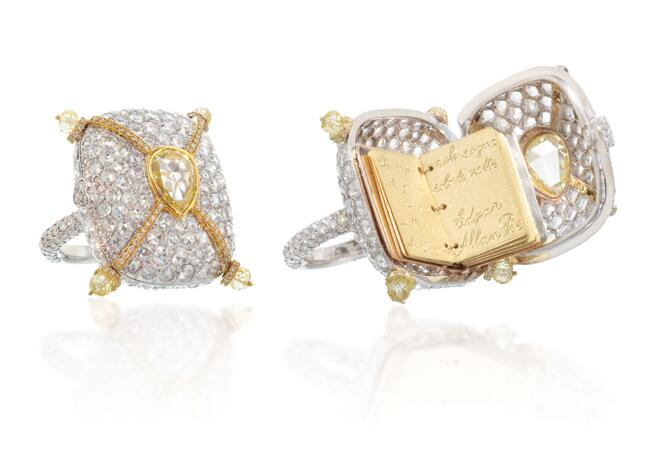 Ring: Lugano Diamonds // Featured: The Knot Blog