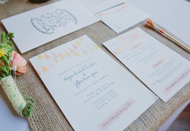 DIY tassel wedding ideas   Lauren Fair Photography   blog.theknot.com