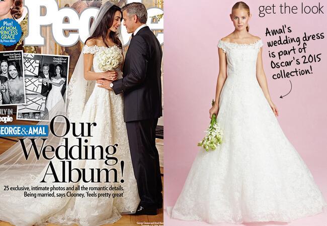 You can buy amal alamuddin 39 s oscar de la renta wedding dress for How much do oscar de la renta wedding dresses cost
