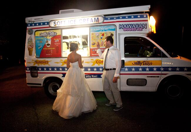 Ice Cream Truck from The Knot