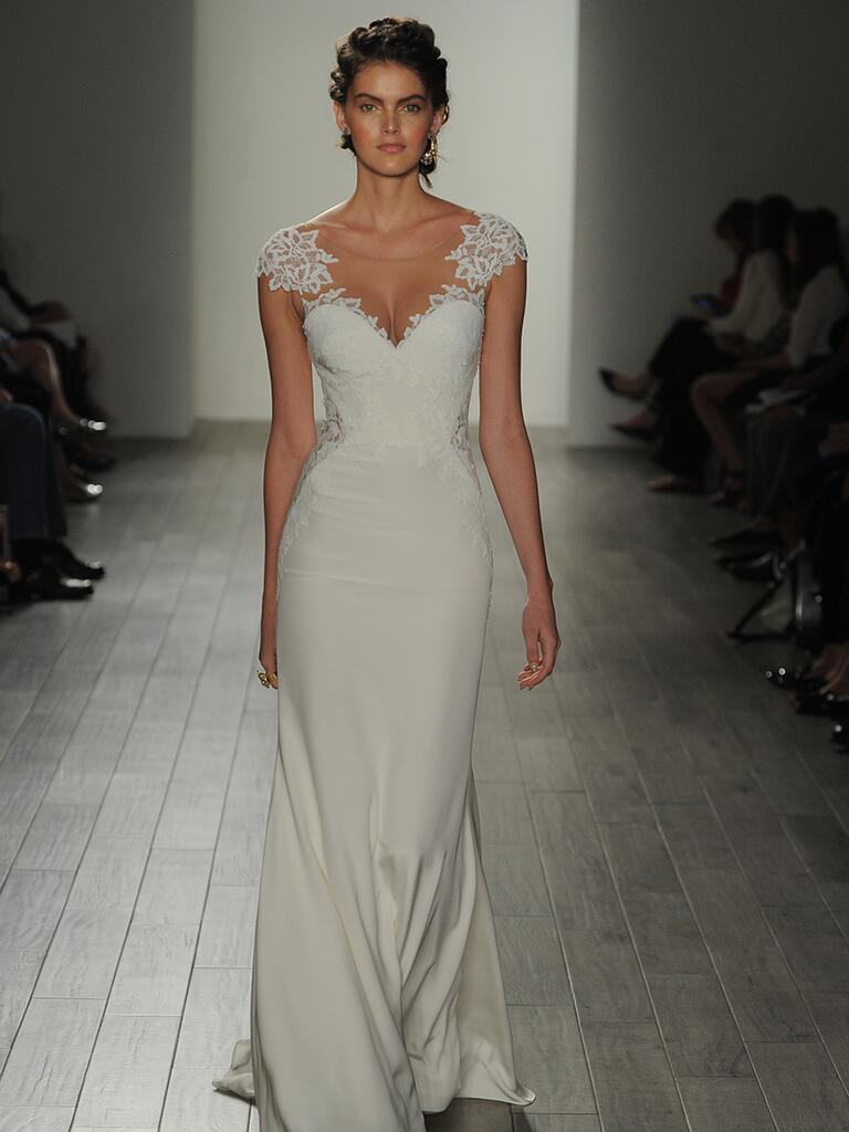 Jim hjelm fall 2017 collection bridal fashion week photos for Jim hjelm wedding dresses