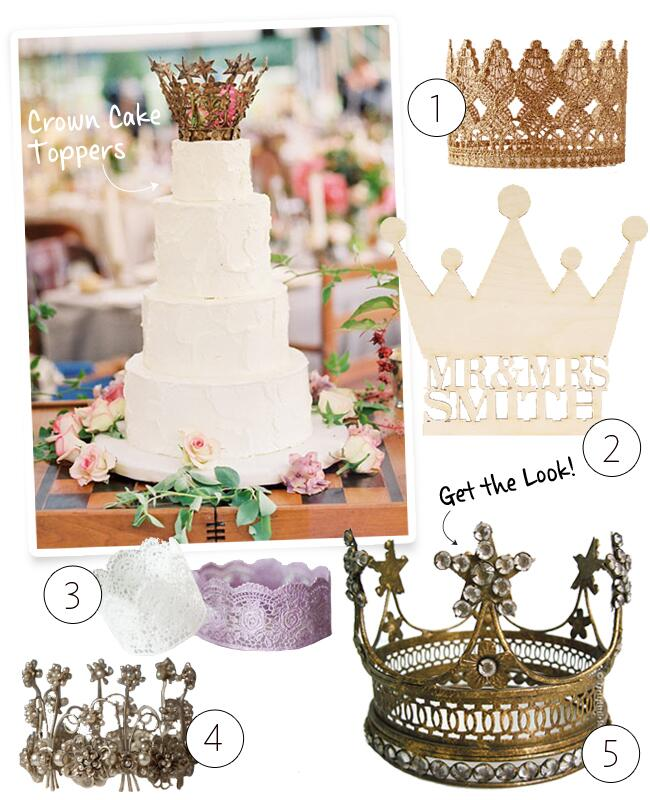 Crown Cake Toppers